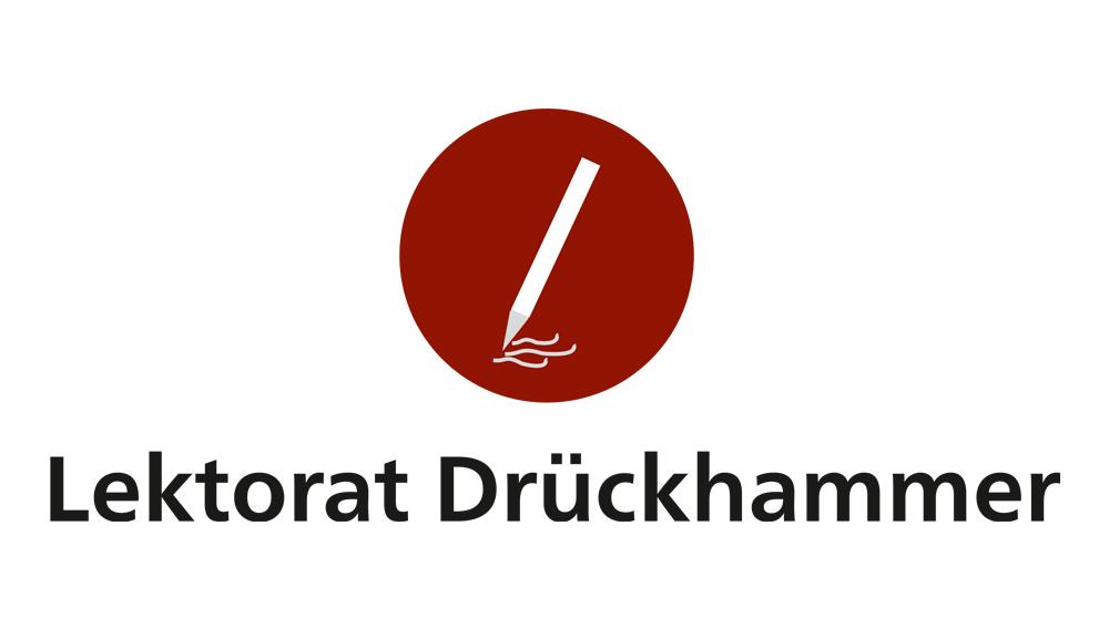 Lektorat Drückhammer - Logo