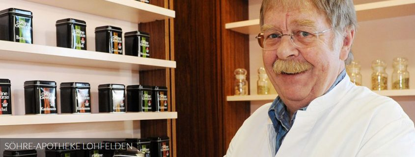 Söhre-Apotheke Lohfelden, Dr. Edmar Seebach (Webseite)
